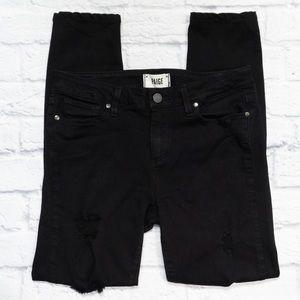 PAIGE Verdugo Ultra Skinny Distressed Jeans SZ 28